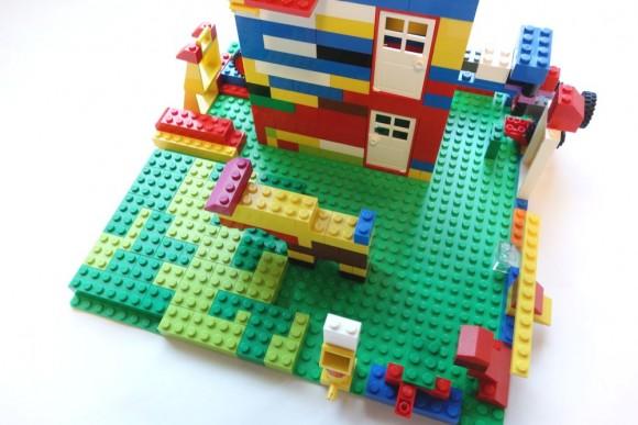 レゴブロックの基礎板は必要か?レビュー (1)