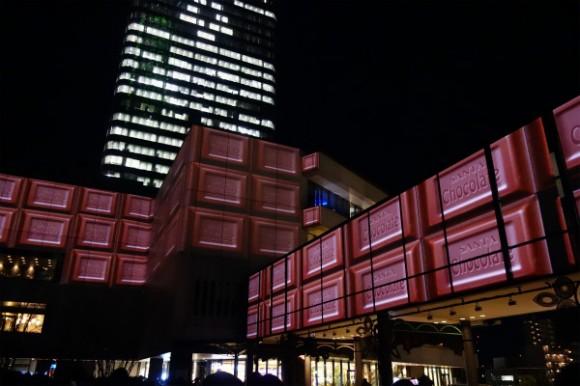 東京スカイツリー_プロジェクションマッピング2014 (1)
