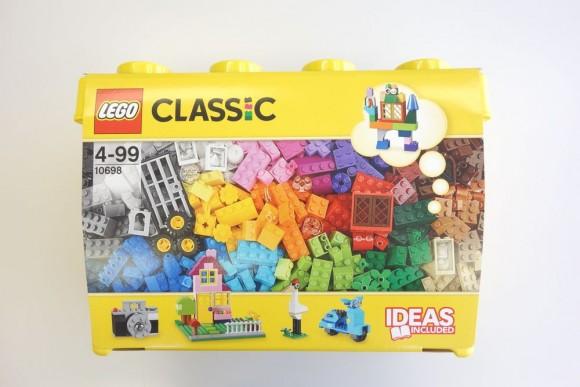 レゴ クラシック 黄色のアイデアボックスプラス 10696のパッケージ (2)