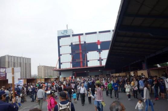 JR貨物隅田川駅「貨物フェスティバル2014」 (9)