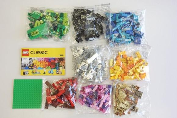 レゴ クラシック 黄色のアイデアボックス プラス 10696の中身 (2)