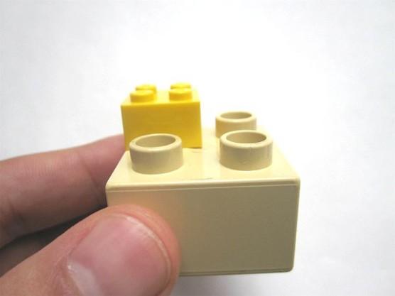 普通のレゴとデュプロの組みあわせ (6)