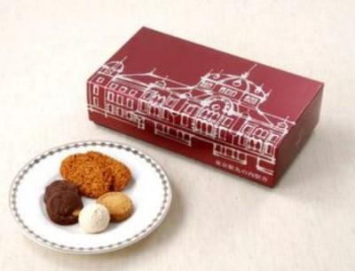 帝国ホテル「クッキー詰合せ(東京駅丸の内駅舎パッケージ)」1