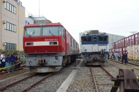 JR貨物隅田川駅「貨物フェスティバル2014」 (4)