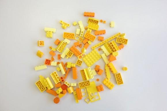 レゴ クラシック 黄色のアイデアボックス プラス 10696の中身 (6)