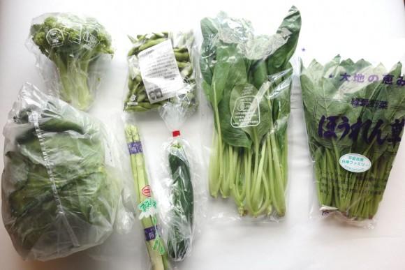 大地宅配(大地を守る会)の有機野菜定期コース_8月第3週 (1)