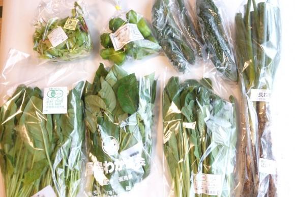 大地宅配(大地を守る会)の有機野菜定期コース_8月第4週 (7)