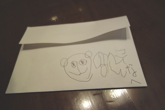 ディズニーでキャラクター宛に書いたファンレター
