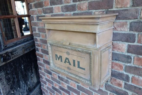 ディズニーシーのメールボックス