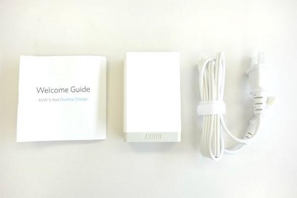 Anker 40W 5ポート USB急速充電器の評判 (4)