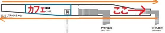 旧万世橋駅のプラットフォーム