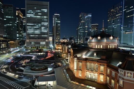 東京駅全景 (1)