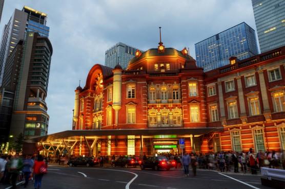 東京駅全景 (2)