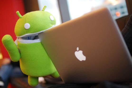 androidのスマートフォン