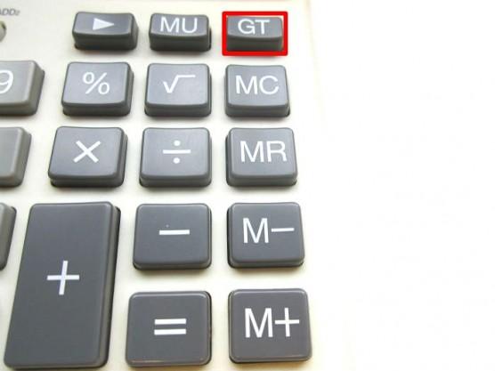 電卓のGT