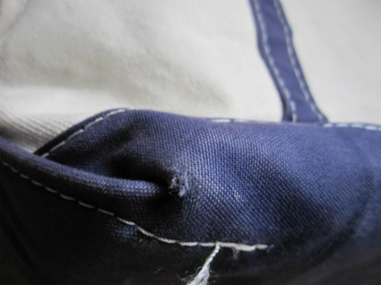 l.l.beanのトートバッグの色褪せ写真5