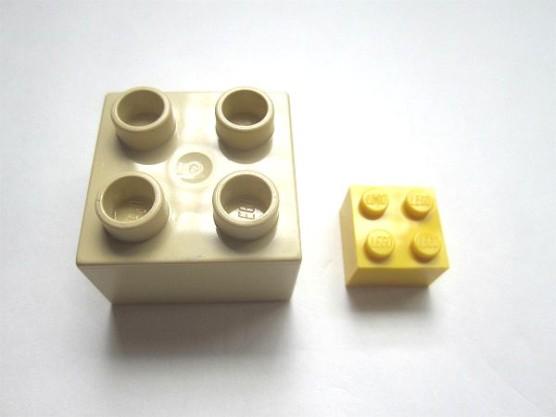 普通のレゴとデュプロの組みあわせ (2)