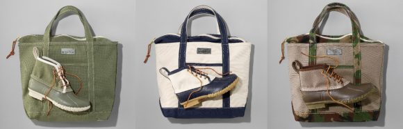 """Bean Boot and Tote & Bean Boot 6"""" Canvas Tote Limited Edition"""