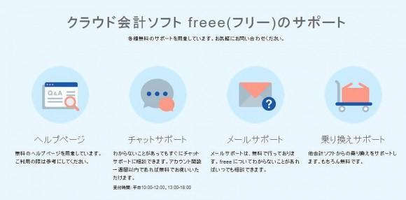 全自動確定申告ソフト「freee(フリー)」のサポート