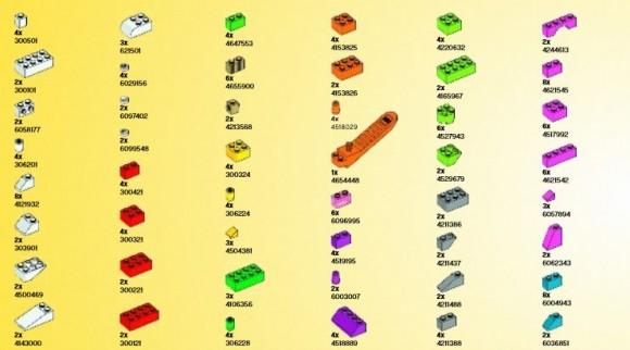 アイデアパーツ(明るい色セット) (3)