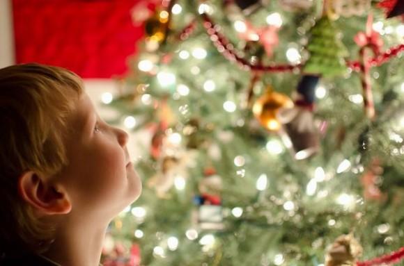 クリスマスを夢見る子ども