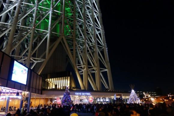 東京スカイツリー_プロジェクションマッピング2014 (3)