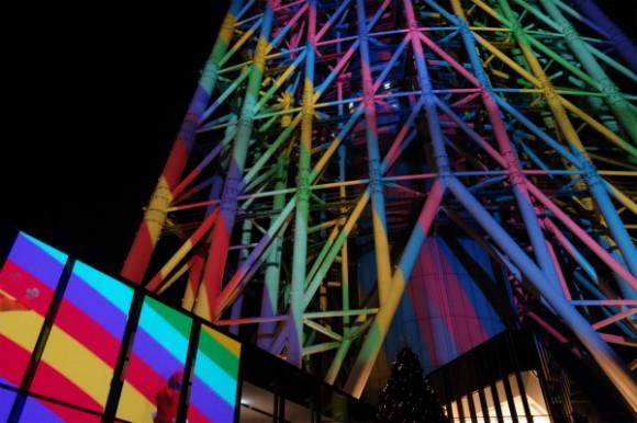 東京スカイツリー_プロジェクションマッピング2014 (9)