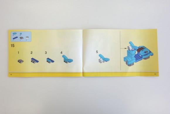 レゴ クラシック 黄色のアイデアボックス プラス 10696の説明書 (2)