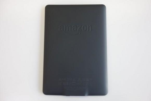 キンドル電子書籍リーダー「Kindle Paperwhite」裏面