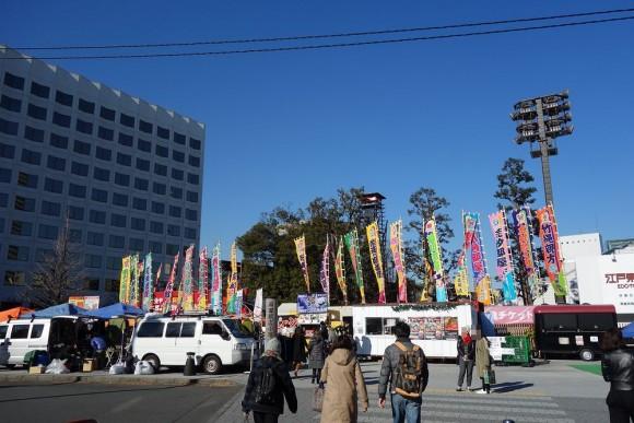 子供連れ大相撲観戦(両国国技館) (2)