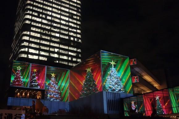 2015年東京スカイツリーのクリスマスプロジェクションマッピング (18)