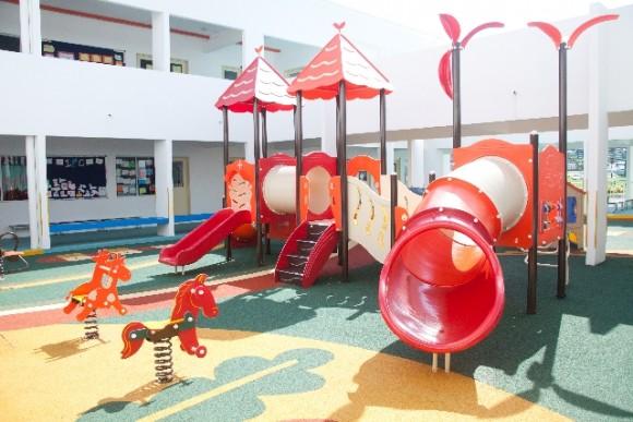 幼稚園の園庭