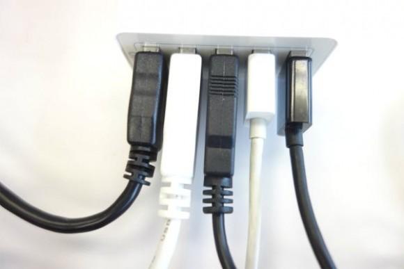 充電コードを整理する (2)
