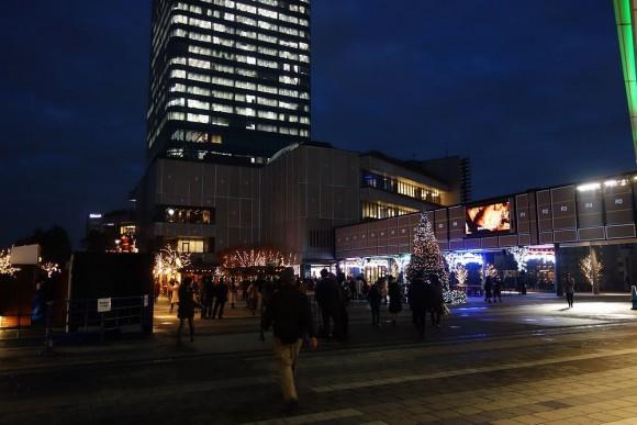 2015年東京スカイツリーのクリスマスプロジェクションマッピング (21)