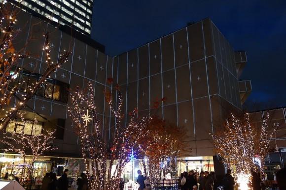 2015年東京スカイツリーのクリスマスプロジェクションマッピング (4)