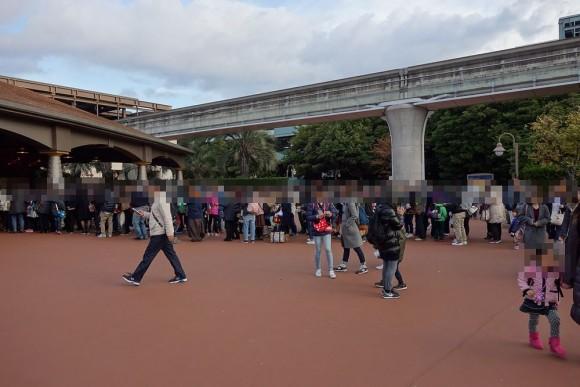 東京ディズニーシーの朝はどのくらい混雑するのか (3)