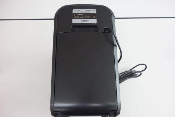 コクヨの省スペースシュレッダーKPS-X80の大きさ. (4)