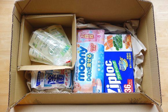 日用品の通販サイトLOHACO(ロハコ)の梱包状態 (11)