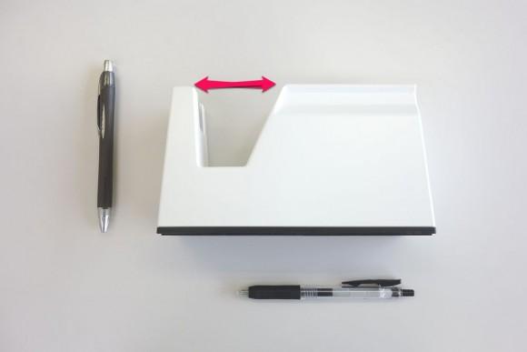 子供でも切りやすいコクヨ テープカッター カルカット 白 T-SM100のレビュー (1)