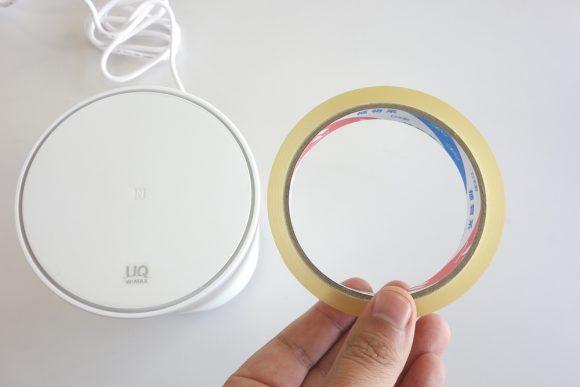 Speed Wi-Fi HOME L01のサイズ (3)