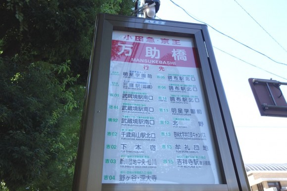 三鷹の森ジブリ美術館への行き方 (3)