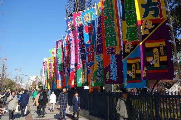 子供連れ大相撲観戦(両国国技館) (3)