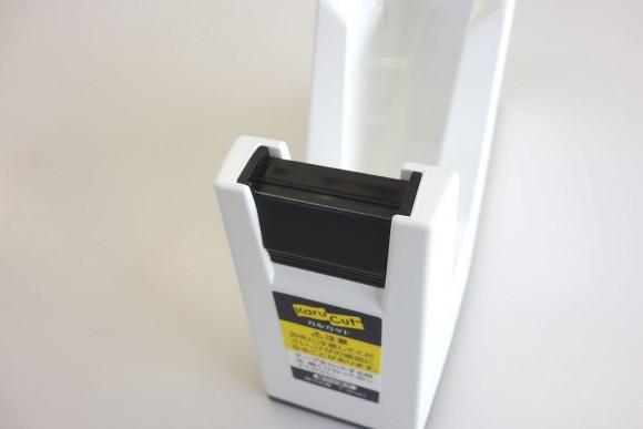 子供でも切りやすいコクヨ テープカッター カルカット 白 T-SM100のレビュー (5)