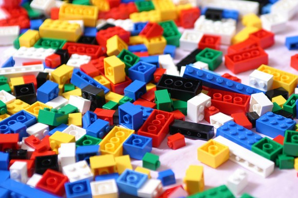 レゴブロックがいっぱい