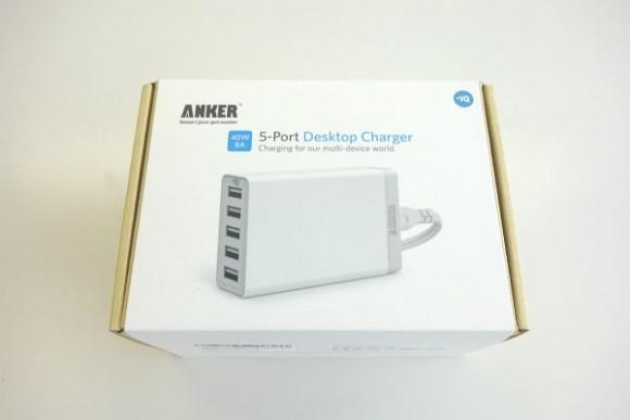 Anker 40W 5ポート USB急速充電器の評判 (2)