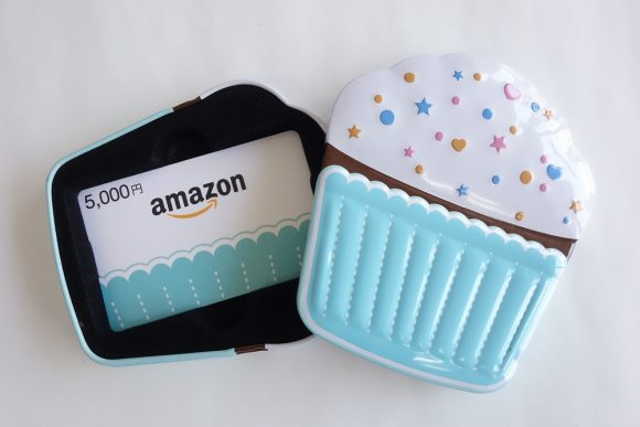 Amazonギフト券(ボックスタイプ)のカップケーキ