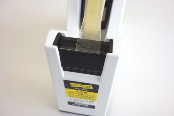 子供でも切りやすいコクヨ テープカッター カルカット 白 T-SM100のレビュー (6)