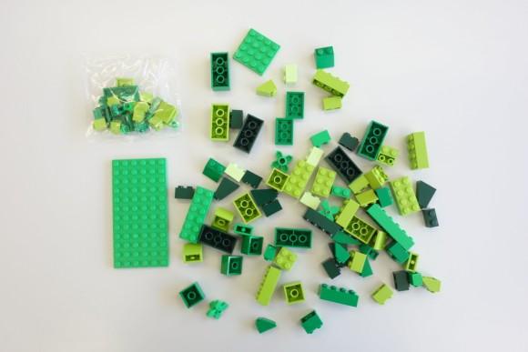 レゴ クラシック 黄色のアイデアボックス プラス 10696の中身 (5)