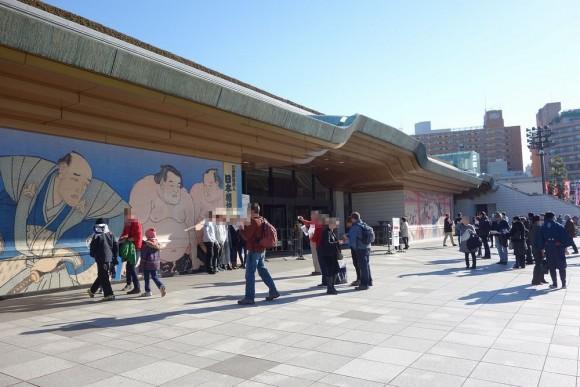 子供連れ大相撲観戦(両国国技館) (8)