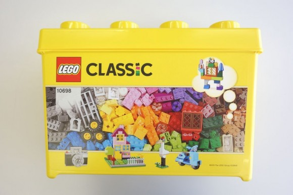 レゴ クラシック 黄色のアイデアボックスプラス 10696のボックス